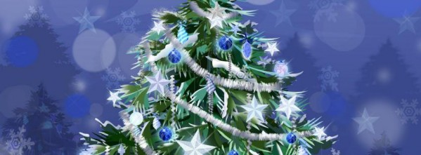 Starry Christmas Tree